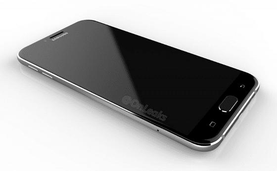 Galaxy A8 Render Image