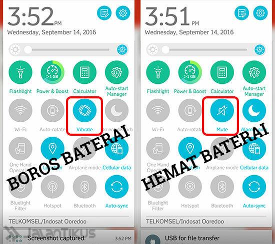 mode-getar-vs-silent-hemat-mana-3