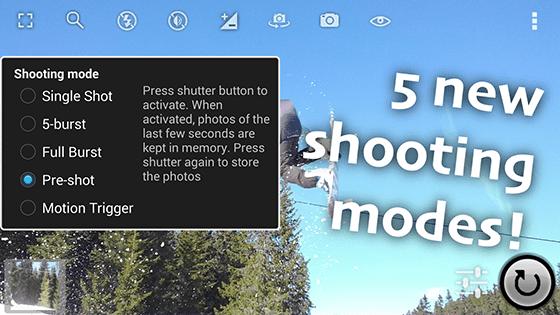aplikasi foto melayang Fast Burst