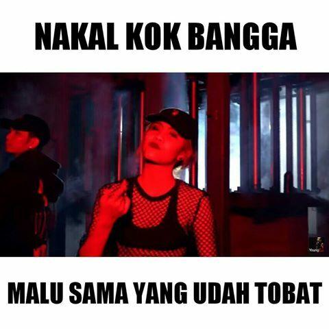 Meme Lucu Awkarin Young Lex Bad 3