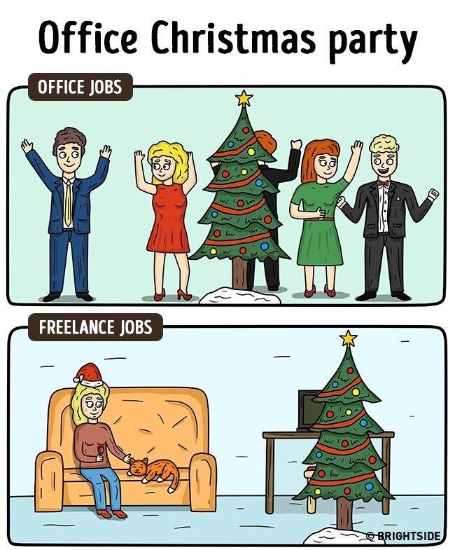 Perbedaan Freelance Dan Pekerja Kantoran 7