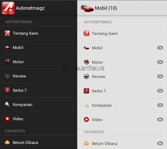 Aplikasi Otomotif Untuk Android 1