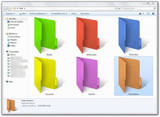 Cara Membuat Folder Berwarna 8
