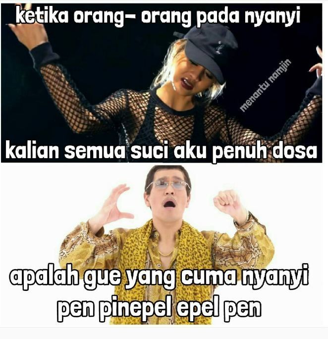 Meme Ppap Pen Pinapple Apple Pen 12