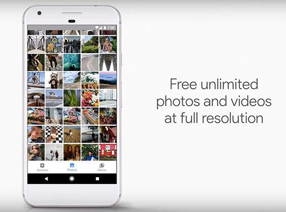 Penyimpanan Tak Terbatas Untuk Foto Dan Video