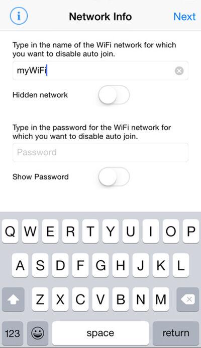 Memindahkan Koneksi Wifi Iphone 1