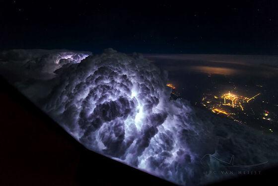 Foto Fantastis Dari Pesawat 1