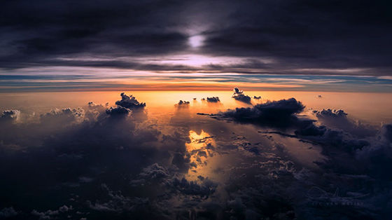 Foto Fantastis Dari Pesawat 2