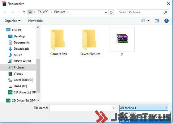 Menyembunyikan File Dalam Gambar 8