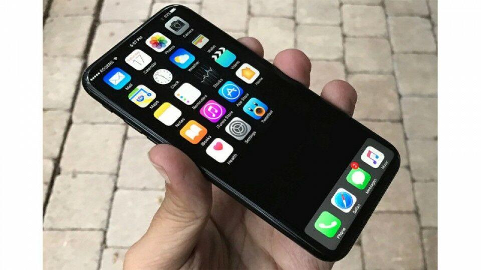 Konsep Iphone 8 Bezelless 2