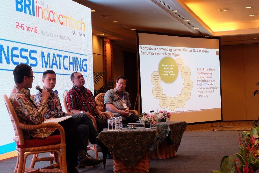 Bri Indocomtech 2016 Business Matching
