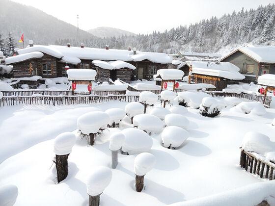 Salju Di China 1