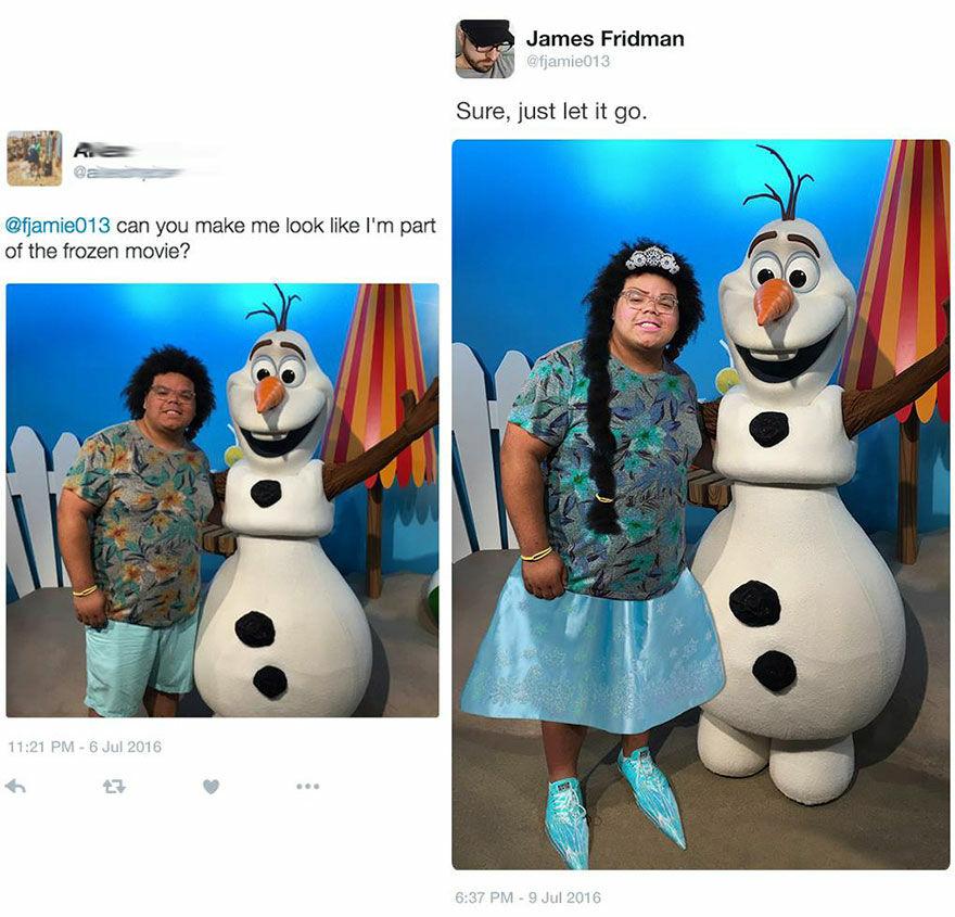 Sudah Pas Menjadi Bagian Dari Film The Frozen Belum Ya