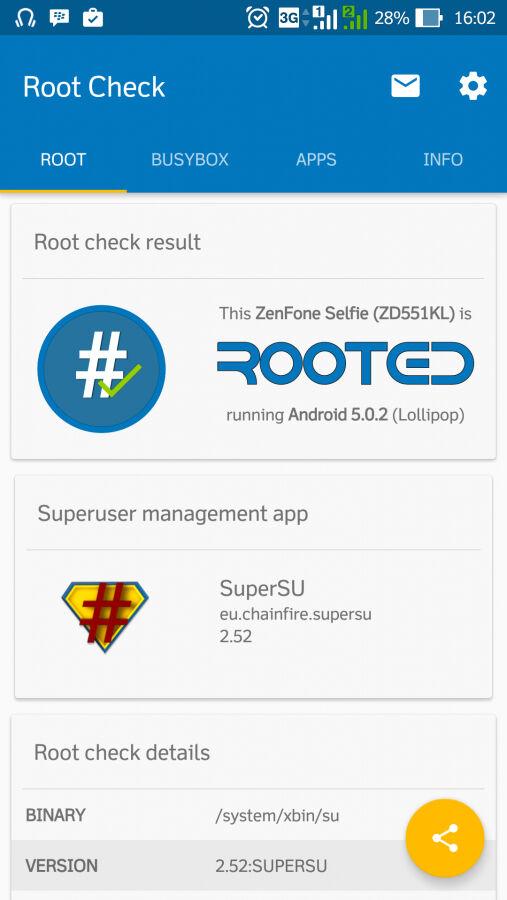 Cara Root Asus Zenfone Selfie 10