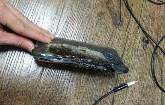 Galaxy Note 7 Meledak Di Pencurinya