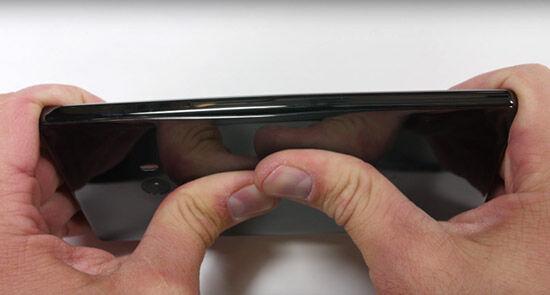 Xiaomi Mi Mix Bending Test