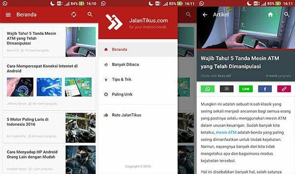 Aplikasi Android Terbaik Jalantikus