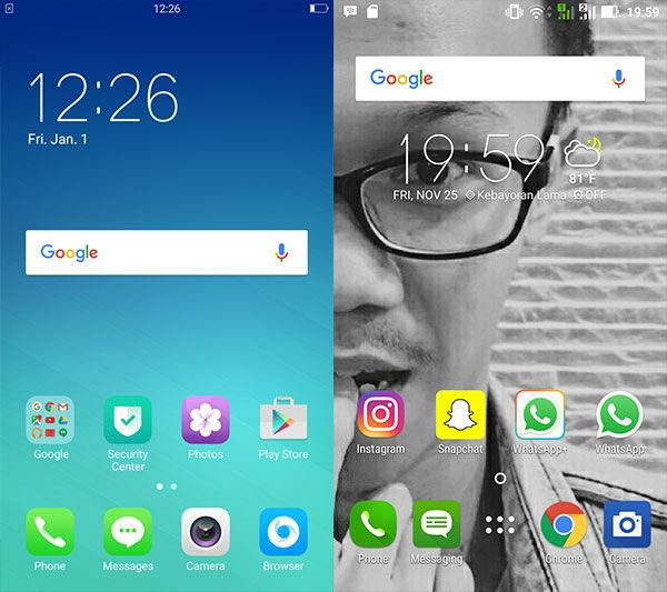 Oppo F1s Vs Asus Zenfone Selfie 10