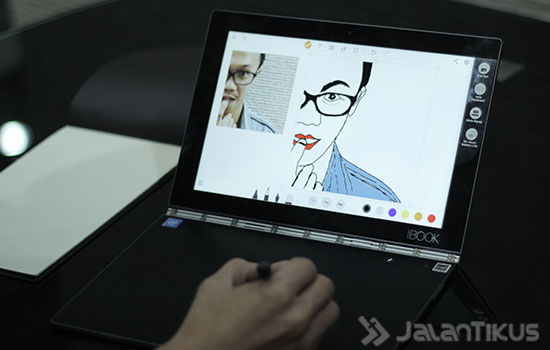 Review Lenovo Yoga Book Android 6