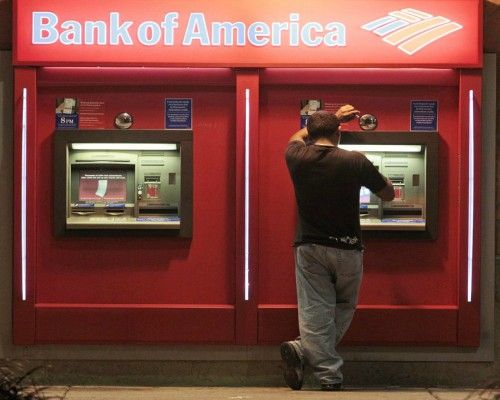 ATM Bank of America