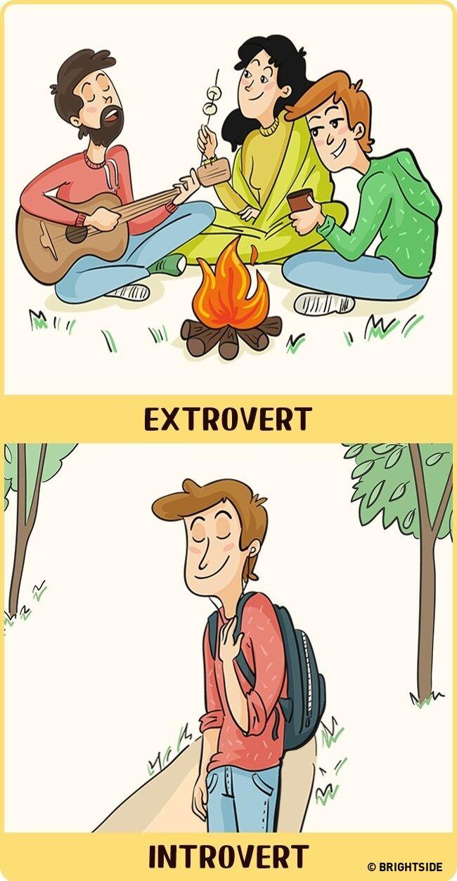 Perbandingan Introvert Dan Ekstrovert 12