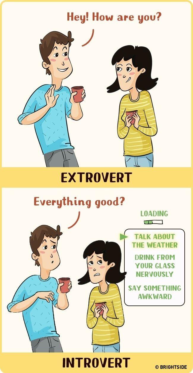 Perbandingan Introvert Dan Ekstrovert 2