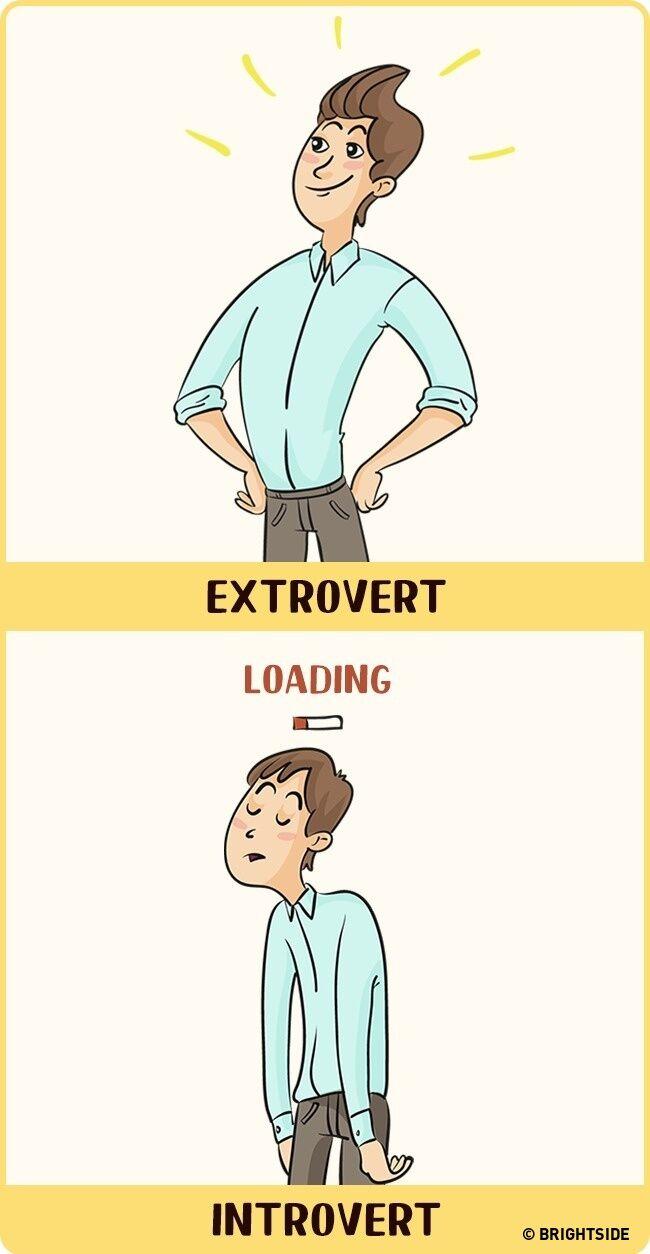 Perbandingan Introvert Dan Ekstrovert 9