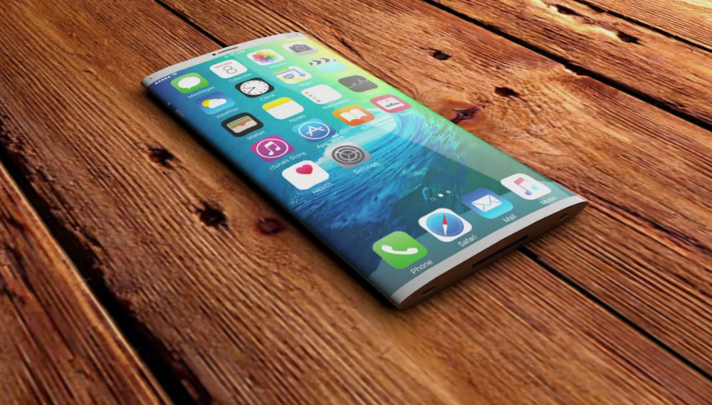 Iphone 7 Curved Display