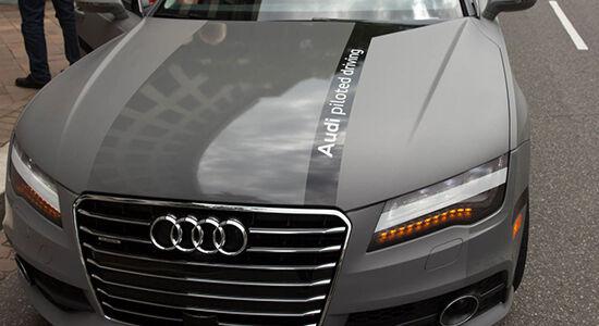 Audi Driveless Car