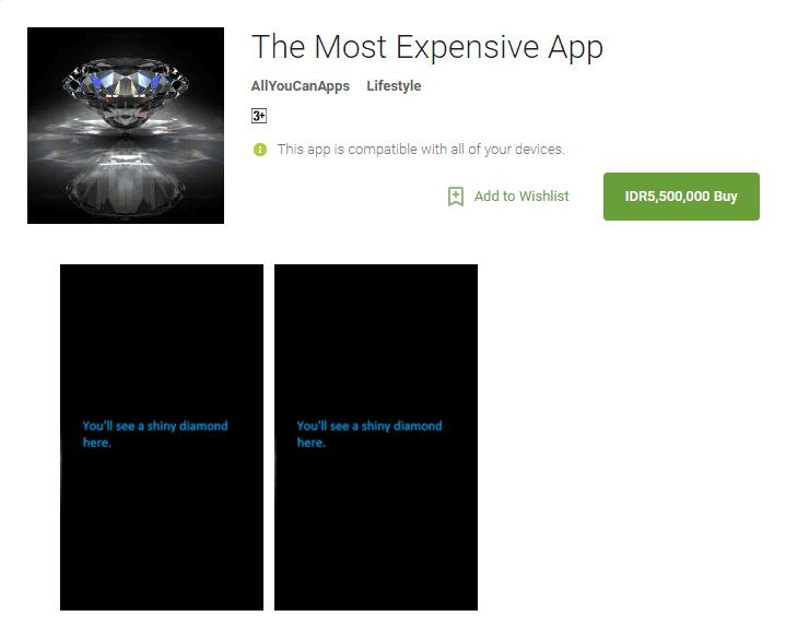 Aplikasi Android Paling Mahal Di Google Play 6