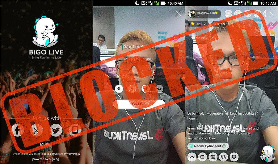 Bigo Live Diblokir 2