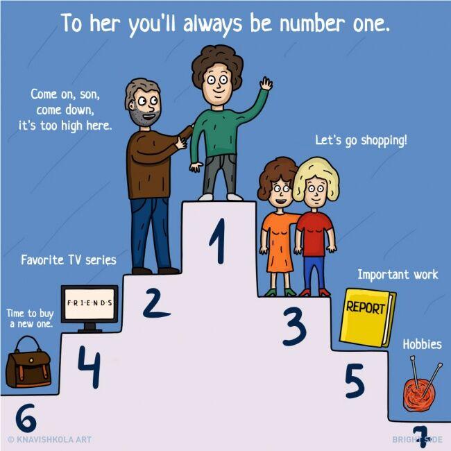 Ilustrasi Hal Yang Tidak Ibu Bertahu Ke Kita 5