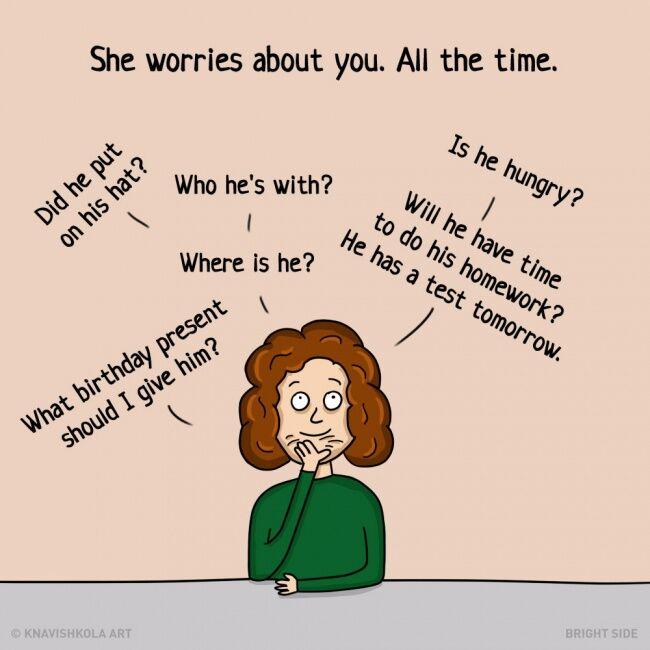 Ilustrasi Hal Yang Tidak Ibu Bertahu Ke Kita 7
