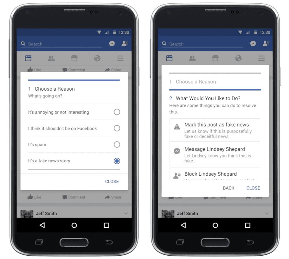 Cara Melaporkan Berita Hoax Di Facebook