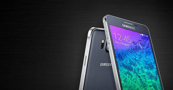 1. Samsung Galaxy Alpha