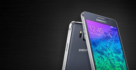 1. Samsung Galaxy Alpha