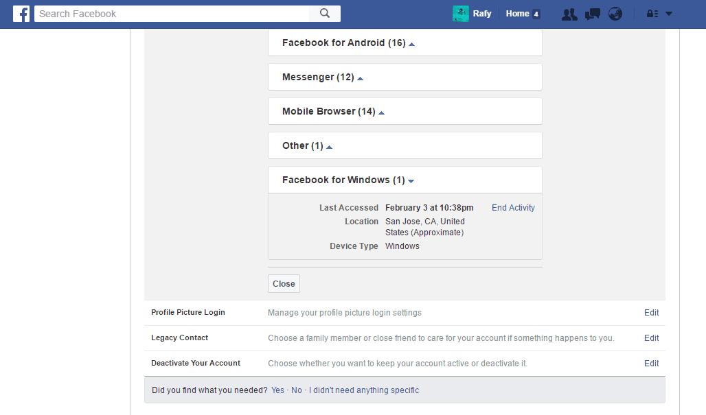 Tanda Akun Facebook Dihack Dan Cara Mengatasinya 5