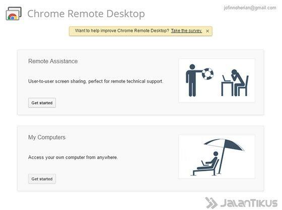 cara mengakses komputer lain 4