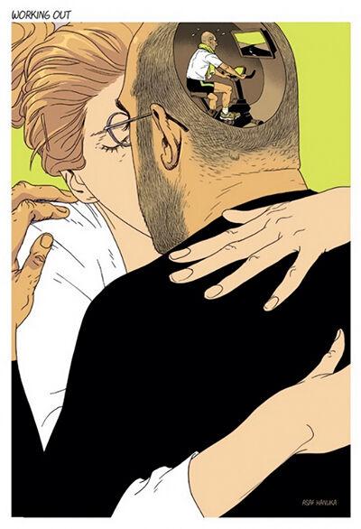 ilustrasi dunia sakit jiwa 5