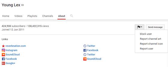 Block Youtube Channel 2