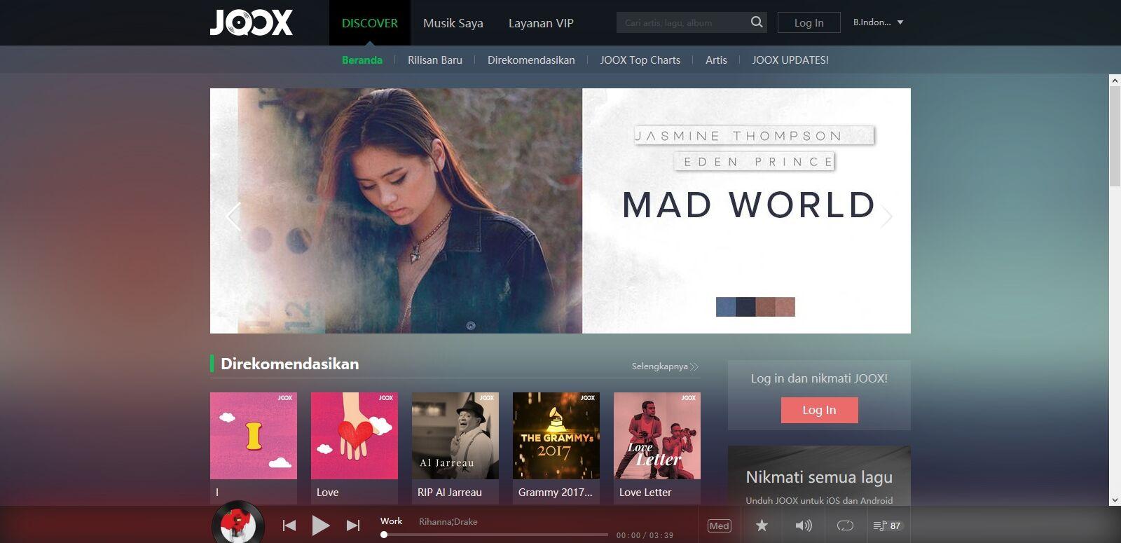 Cara Download Lagu Di JOOX Dengan Internet Download Manager