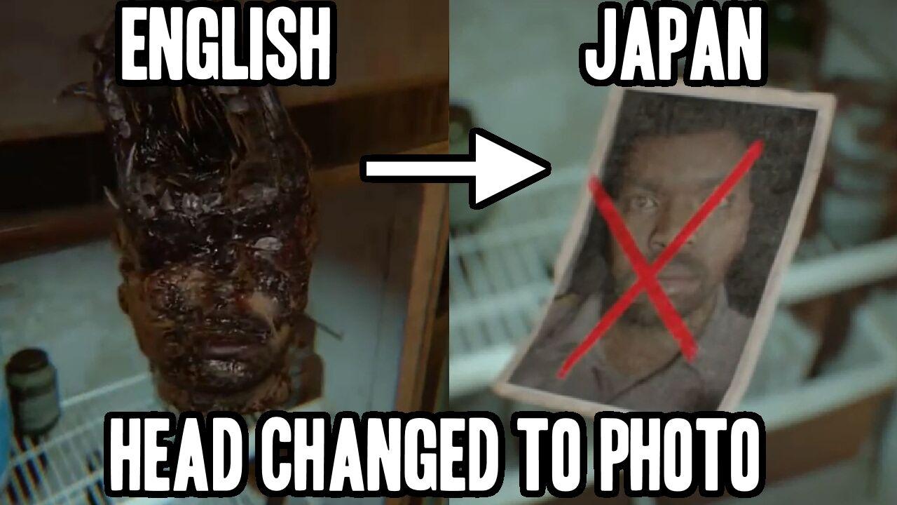 Resident Evil 7 Sensor Jepang