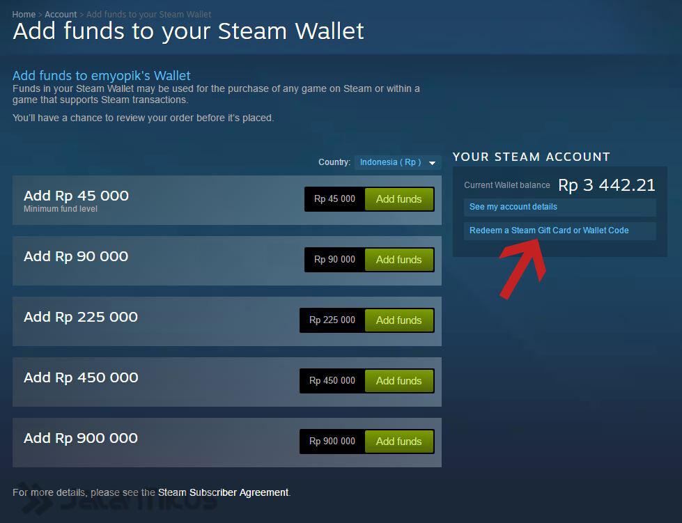 Tukar Pulsa Dengan Steam Wallet 2