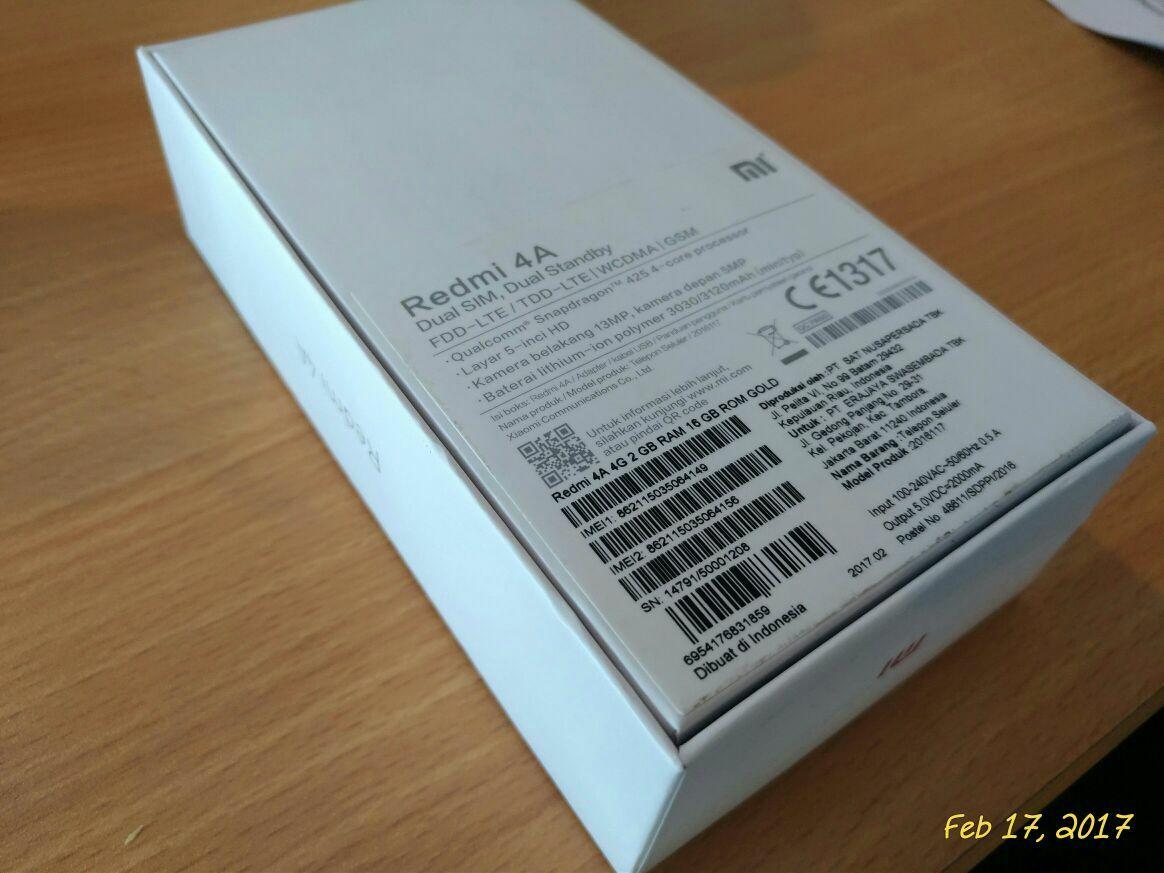 Xiaomi Redmi 4a Buatan Indonesia