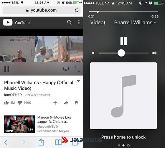 Cara Memainkan Youtube Dengan Layar Terkunci 2