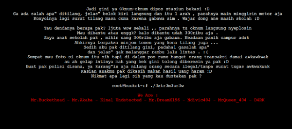 Foto Linuxsec Hackertilang