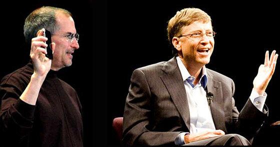 Bill Gates Vs Steve Jobs 2