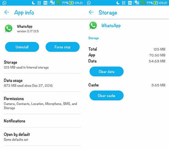 Hapus Pesan Lama Di Whatsapp 2
