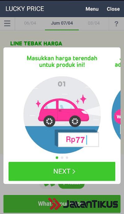 Lucky Price Line