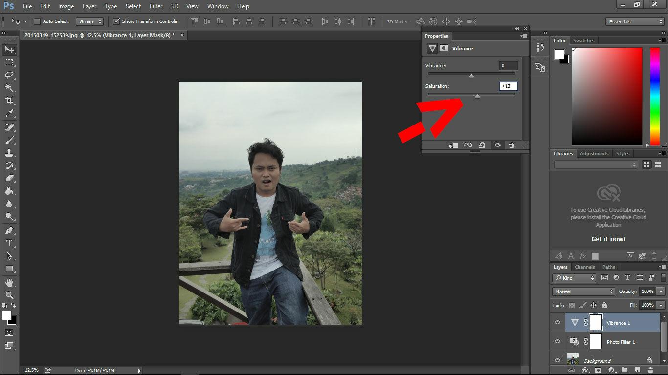 Cara Edit Efek Instagram Di Photoshop 8